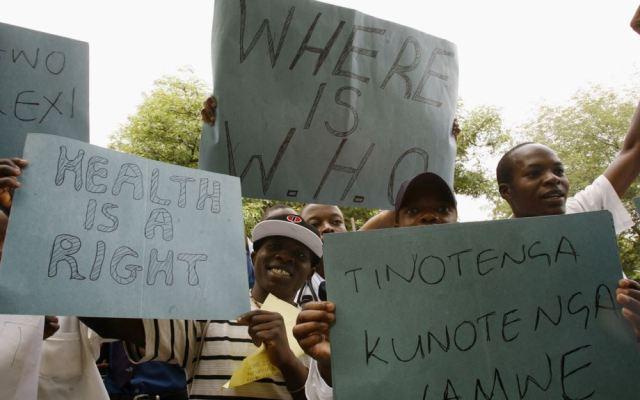 Zimbabwe Govt Fires 16,000 Striking Nurses