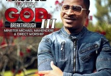 minister michael mahendere getting personal with god 3 album