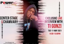 ti gonzi interview with chamvary at centre stage 2021