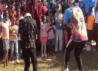 watch video herman dancing for homeless kids