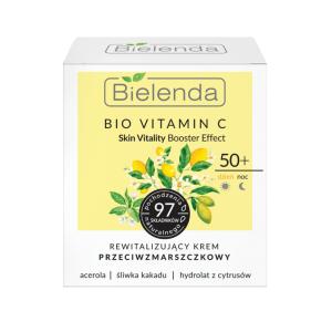 Bielenda Bio Vitamin C Day Anti-Wrinkle Cream 50+ 50ml