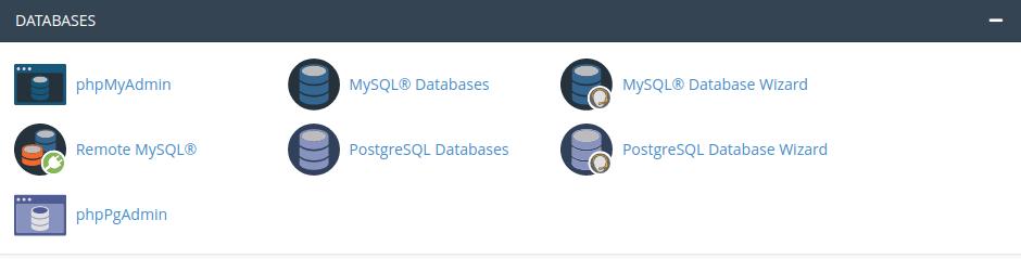 Create a PostgreSQL database in your cPanel