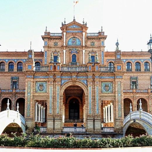 Das Quadrat von Spanien in Sevilla