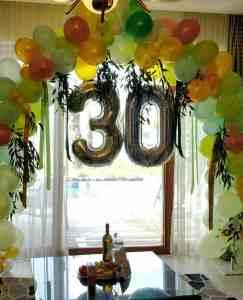 סידורי בלונים ופרחים בפרדייז ברמה צימרים יוקרתיים למשפחות וקבוצות