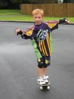 First proper skateboard