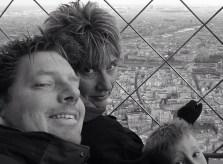 Paris selfie, 2006. Photo: Gray-Leslie family archive.