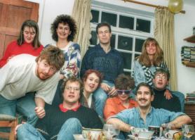 Old photo; old friends. Berkhamsted, December 2001.