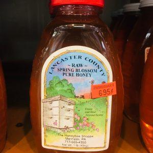 Raw Spring Blossom Pure Honey