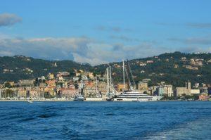 La Spezia from the bay