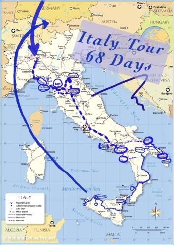 Bellissima Italy Travel Vlog