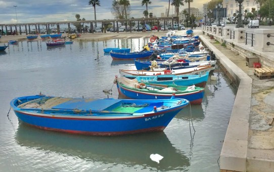 Idle Days in Old Town Bari