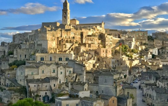 Touring Sassi, the old town of Matera