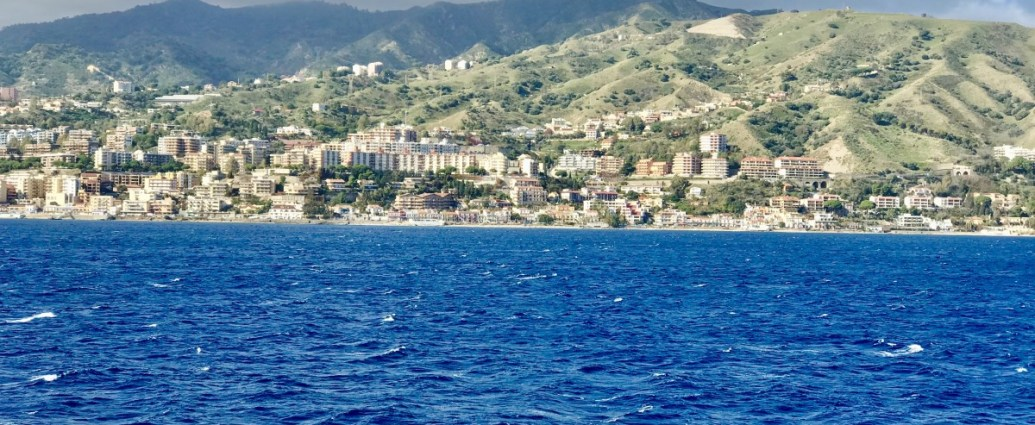 Messina from across the strait