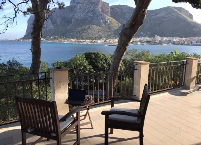 Sferracavallo from the villa