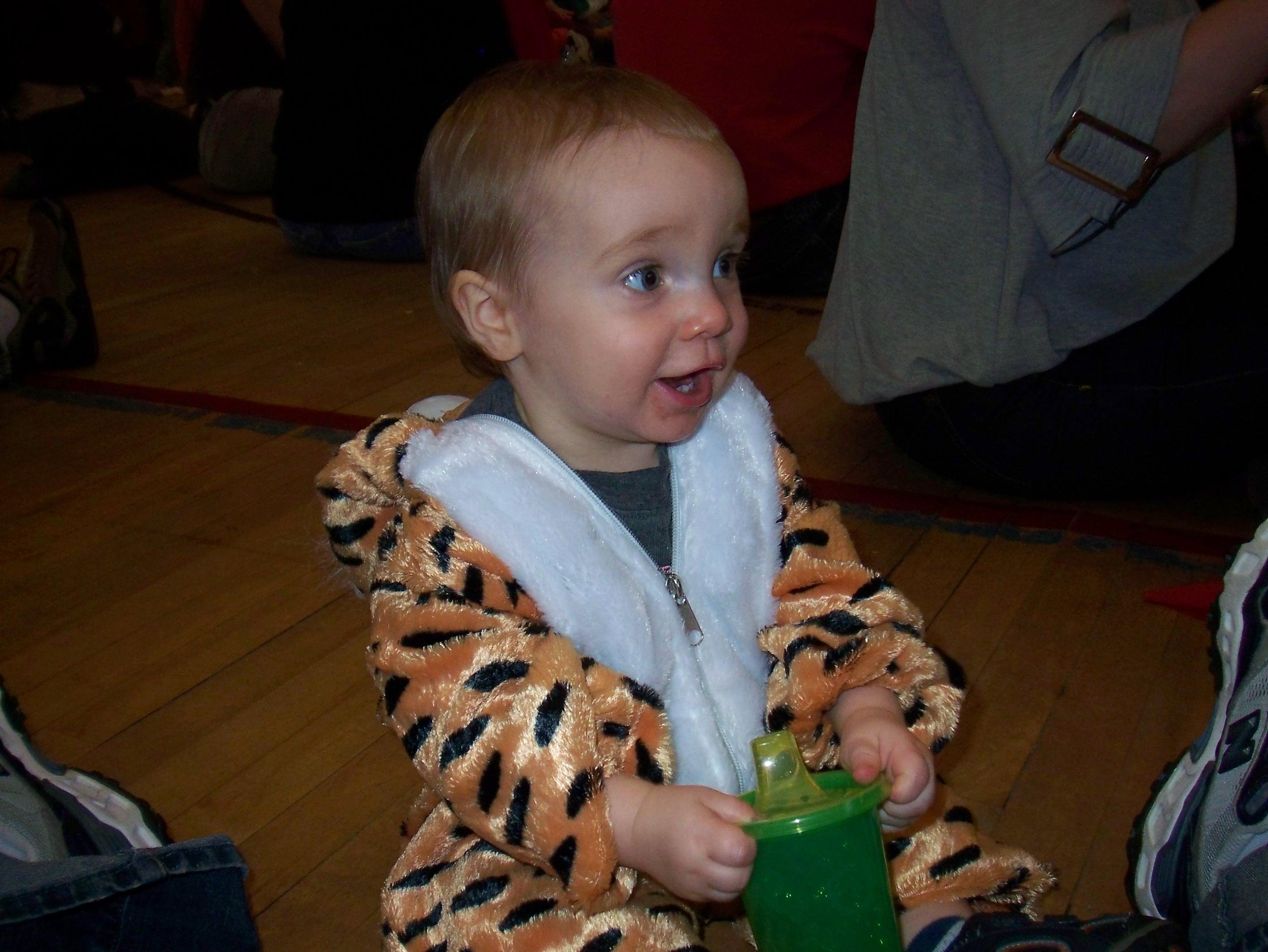 Logan at a Halloween Party 11.20.2008