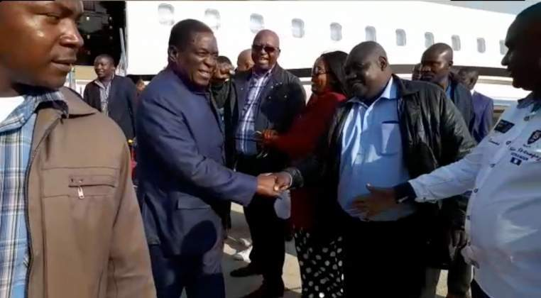 Mnangagwa returns