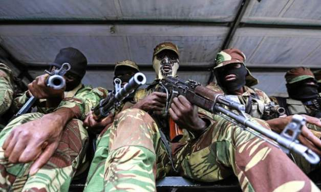 4 armed robbers in army uniform nabbed