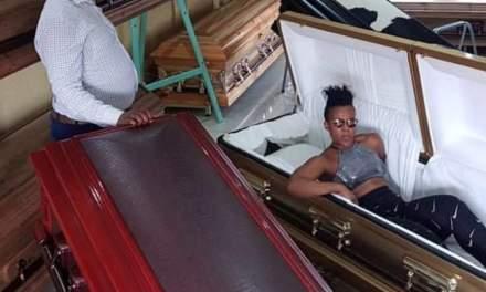 Zodwa Wabantu prepares for death, buys coffin worth R150 000