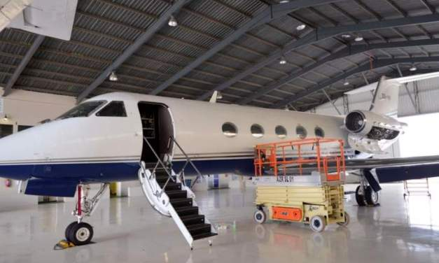 Bushiri's private jet attached