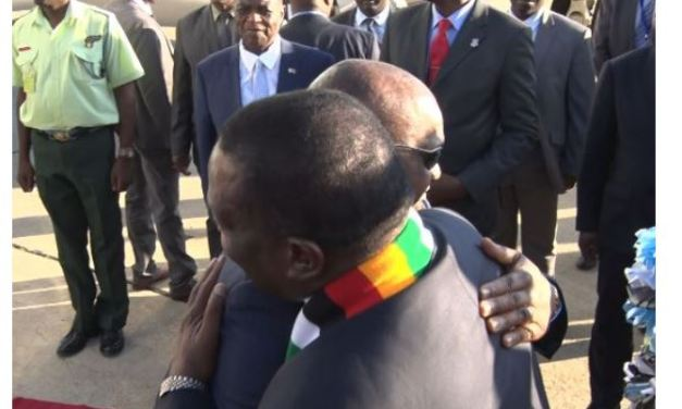 PICTURES: VP Chiwenga returns to work