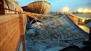Pupils injured in classroom collapse