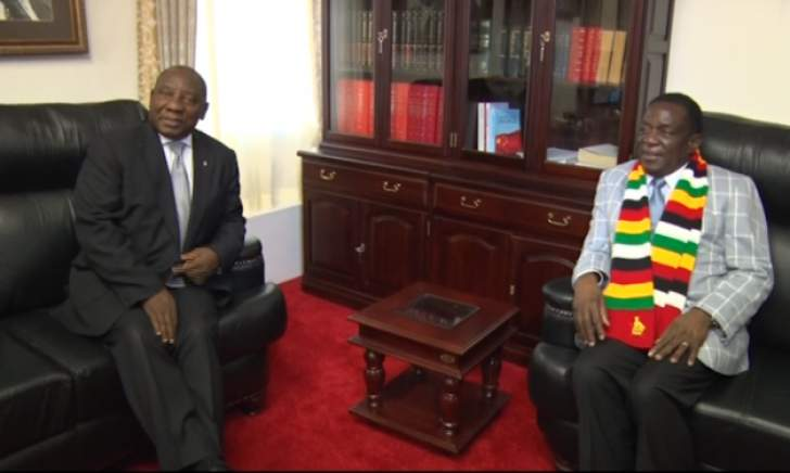 Ramaphosa urged to get tough on Zimbabwe