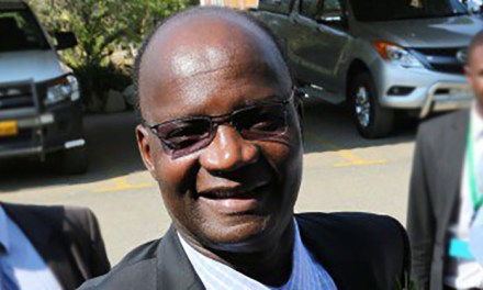 Jonathan Moyo gives scholarship to a Guruve pupil