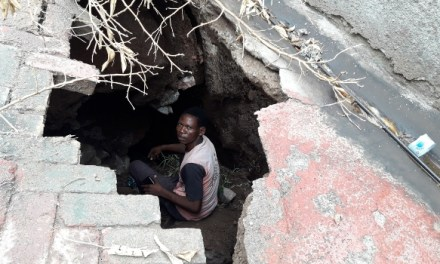 Beitbridge family builds house atop mine shaft