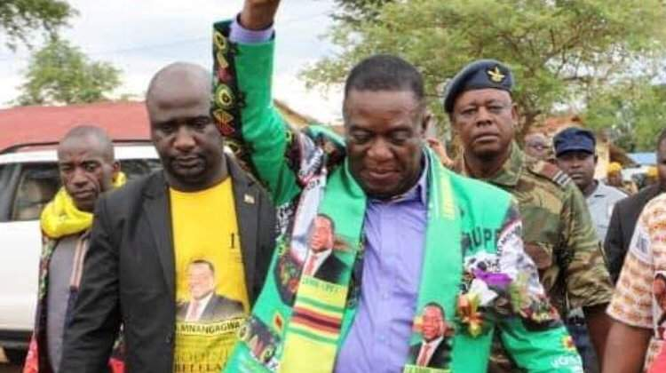 Mnangagwa dumps Chiwenga's security