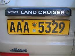 CVR in number plates backlog