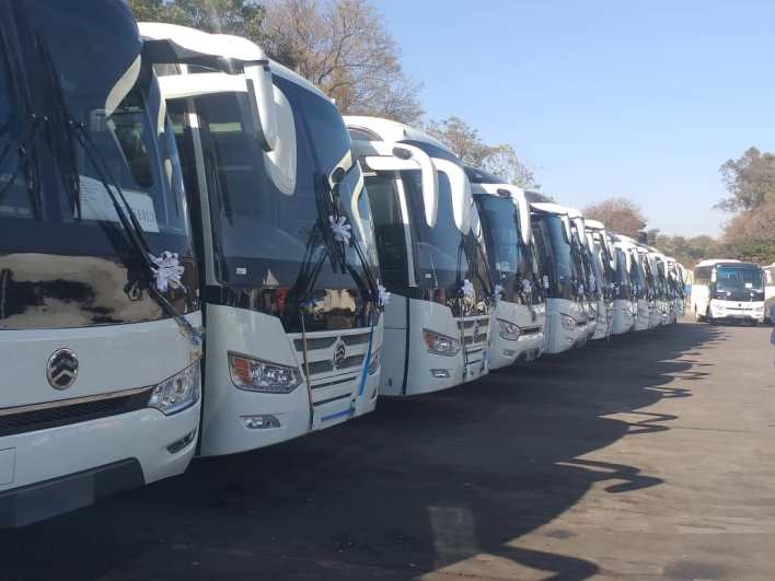 Government Allocates 195 Buses For Mugabe's Burial
