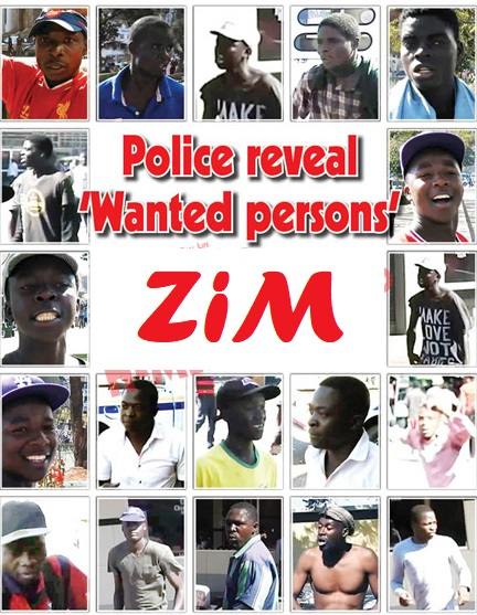 Police reveal 'Wanted persons'