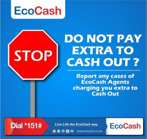 Ecocash agents ripping off
