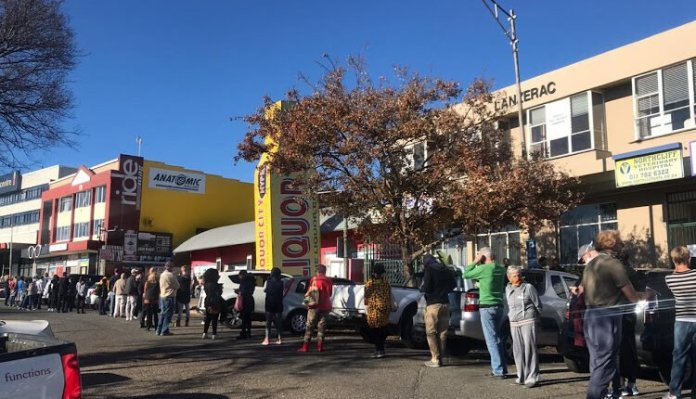 South Africans Queue To Purchase Beer As Level 3 Of The ...