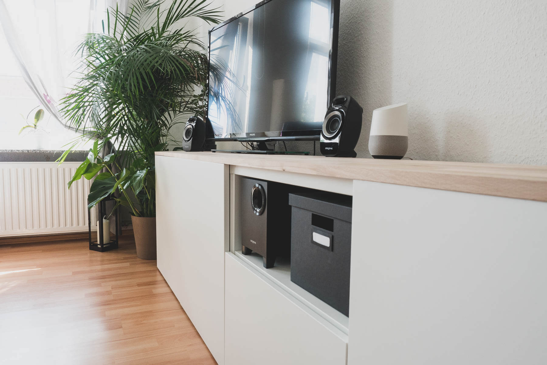 ikea best diy sideboard f rs wohnzimmer. Black Bedroom Furniture Sets. Home Design Ideas
