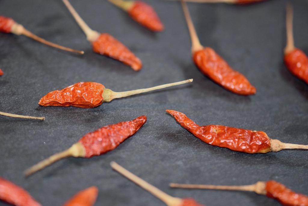 Chilis-Wissenswertes - Chilis - Wissen - Info - Chilisorten - Warenkunde - Chilischoten - frische Chilis - getrocknete Chilis - Schärfegrade - Scoville Einheiten