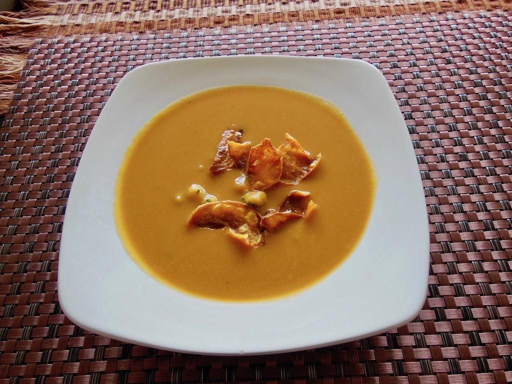 Rezepte: Suppen & Eintöpfe: Süßkartoffelsuppe