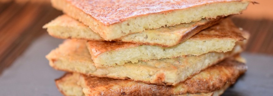 Rezepte: Hauptgerichte: Kartoffelpuffer aus dem Ofen