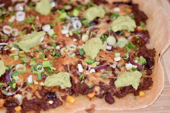 Rezepte: Sonstiges: Pizza Messicana mit glutenfreiem Pizzateig