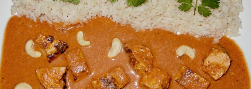 Indisches Butter-Chicken – Murgh Makhani - indisches Butter Huhn - indian butter chicken - butter chicken - Kokosmilch