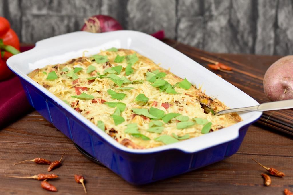 Cremiger Kartoffelauflauf – ein Rezept vegan und glutenfrei