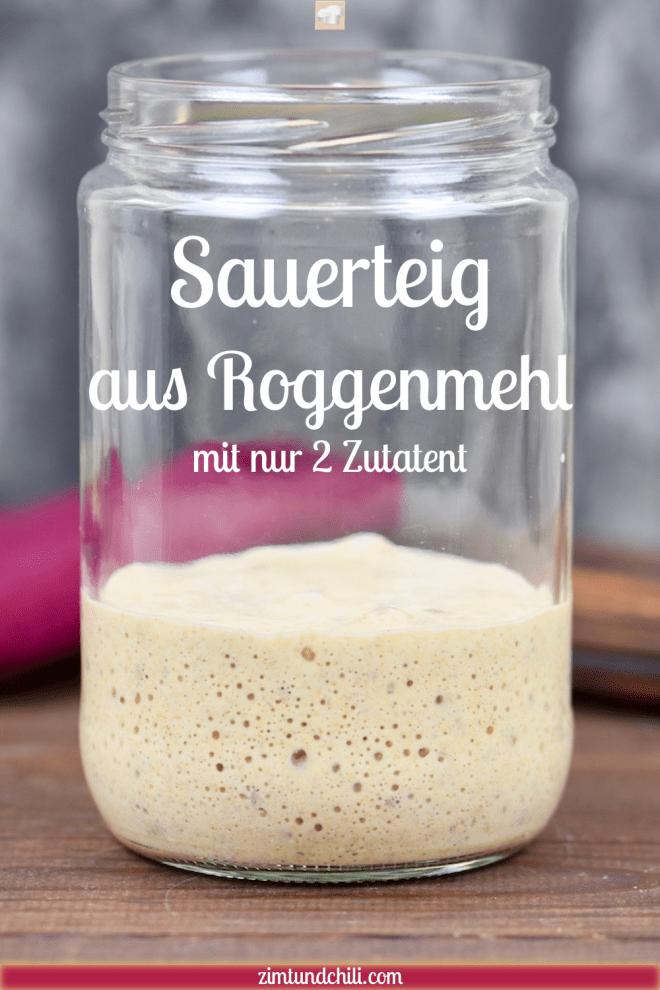 Sauerteig ansetzen - Tipps rund um Sauerteig - Sauerteig - Rezept - Roggenmehl - Brot - backen - Roggensauerteig - Sauerteigbrot - Anstellgut - Sauerteigansatz