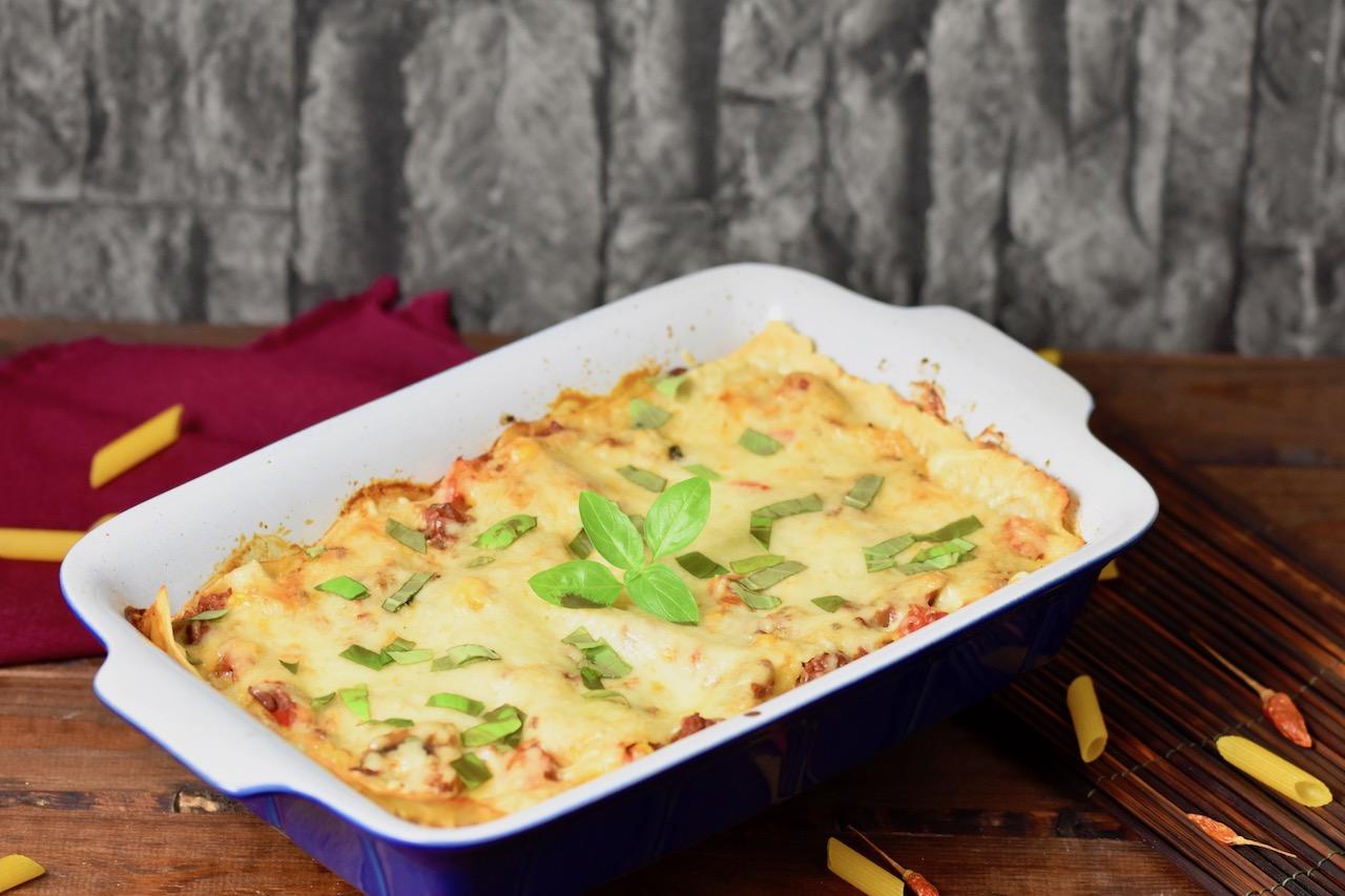 Lasagne Bolognese – Rezept milchfrei und glutenfrei