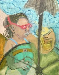 ancooper_Pink Goggles_20x16_oil