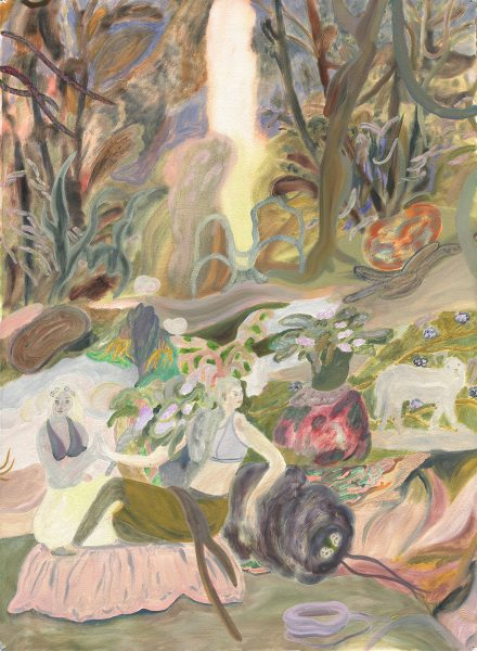SofiaArnold_PLAYINGHOUSEATBRIGHTSPRING_30x22_oilonpaper