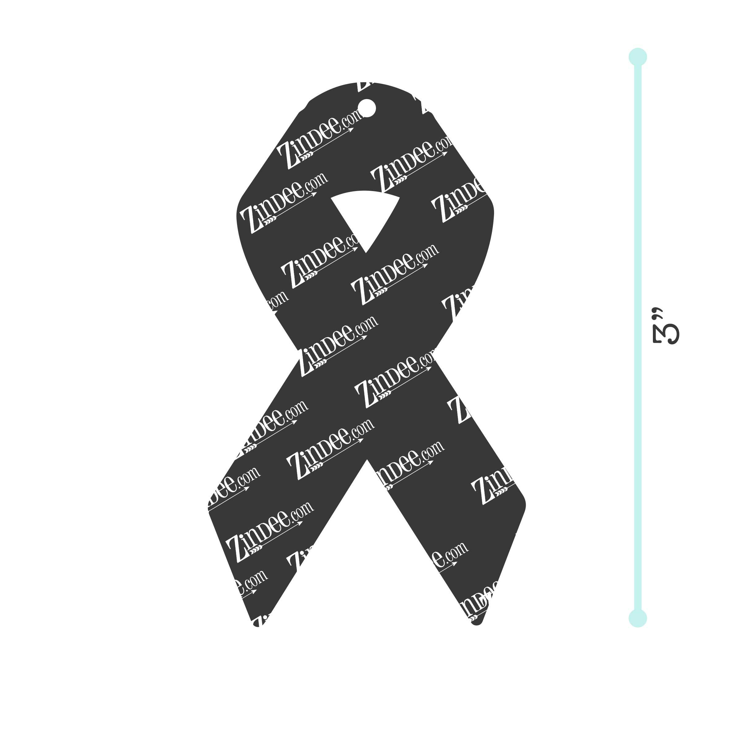 Awareness Ribbon 3 Inch