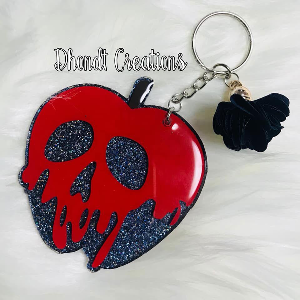 Poison Apple Keychain 2