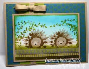 Painted Harvest Hedgehogs