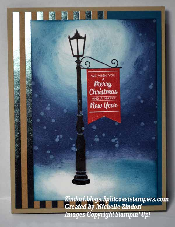 Lamp Light Stampin Up Card