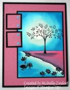Waters Edge Card Created by Michelle Zindorf